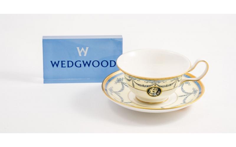 Tazza con piattino da tè Madeleine Wedgwood