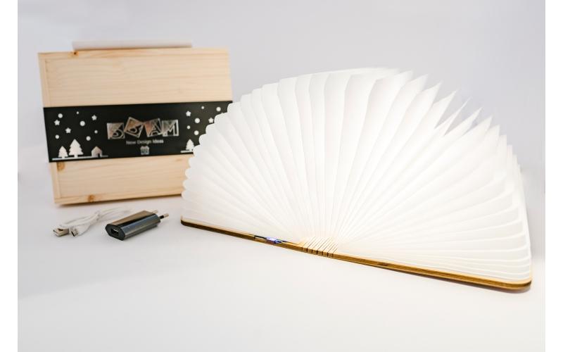 Oobook audio lampada libro